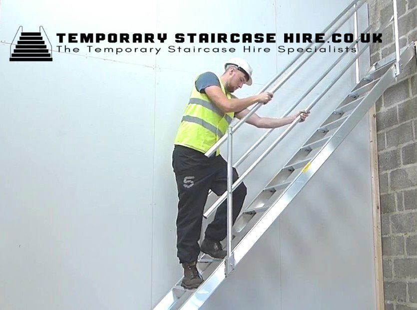 Temporary Site Stairway