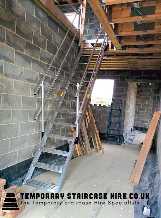 Lightweight Temporary Stairway Hire